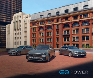 Gama EQ Power Mercedes-Benz.