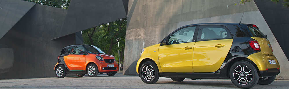 Fortwo y Forfour